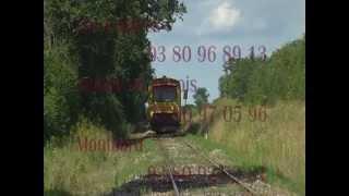 Clip Train Touristique ACTA Les Laumes Semur Epoisses