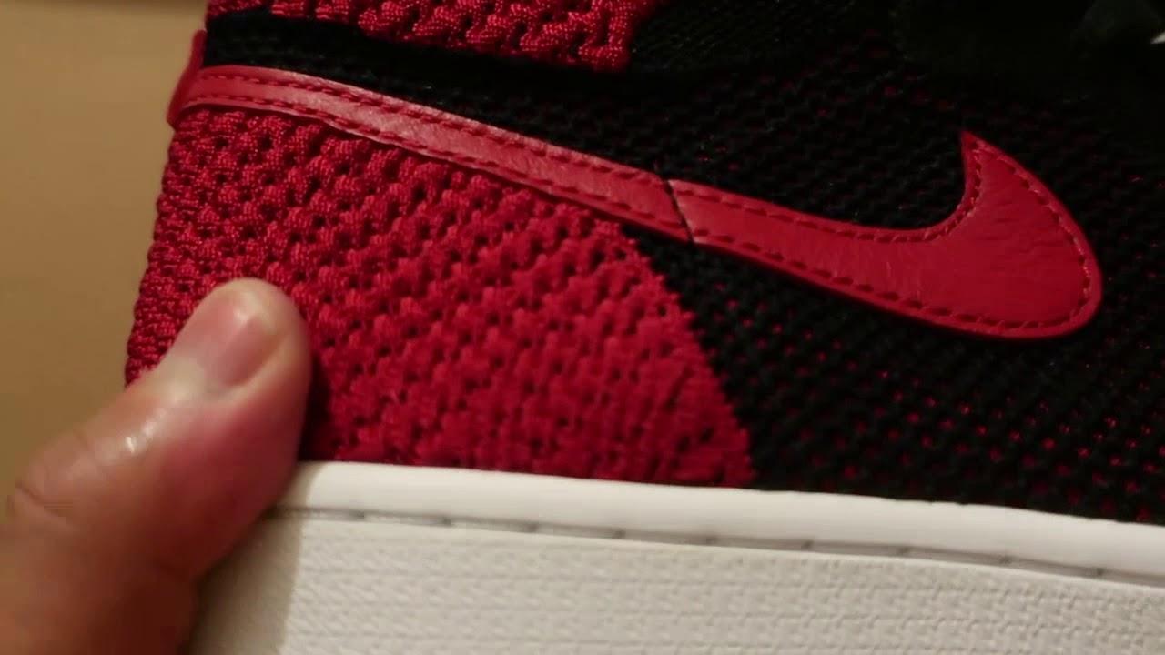 timeless design 24c5a 25893 Nike Air Jordan 1 Retro HI Flyknit Bred   Banned 1 s