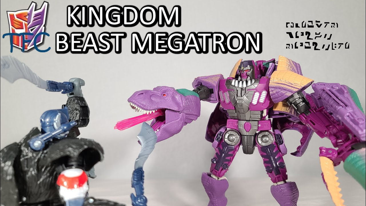 TF Collector Kingdom Beast Megatron Review!