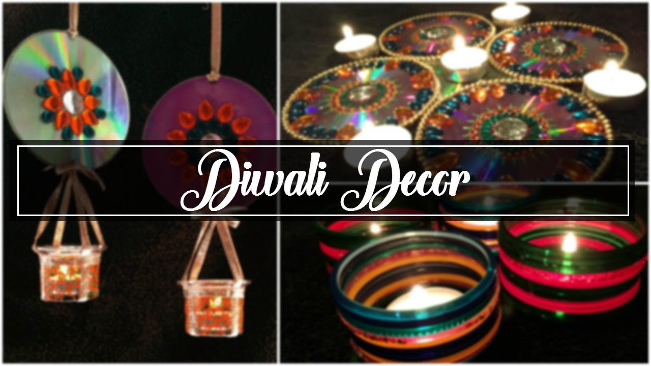 Diwali Decoration Ideas Homes Colors Diy Diwali Decoration Ideas At Home  2016 Shreeja Bagwe Youtube