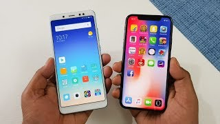 Xiaomi Redmi Note 5 Pro vs iPhone X Speed Test | CRAZY COMPARISON !