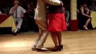 Osvaldo y Coca Campeones de Tango Salon 2004