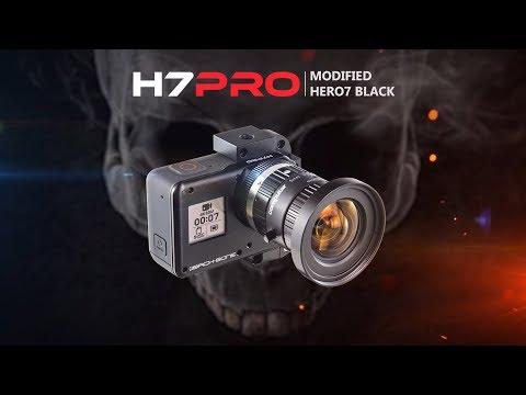 Pro Lenses On Hero7 Black With H7PRO