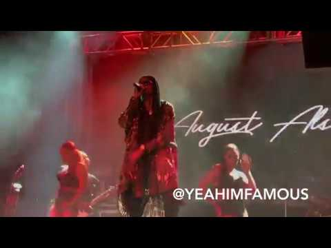 August Alsina , Rotimi & Tone Stith Live on the Don't Matter Tour in NYC at Irving Plaza