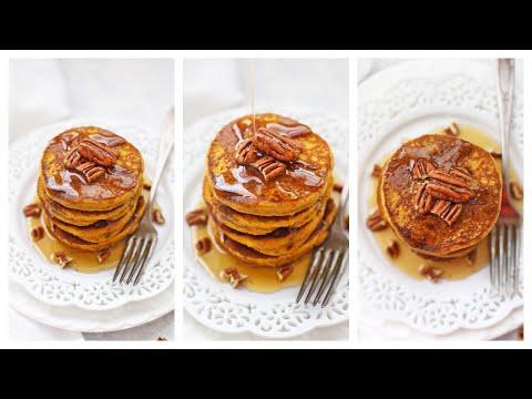 Blender Pumpkin Pancakes (Naturally Gluten Free!)