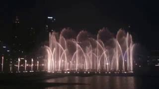 Dubai Fountain - The Prayer - Andrea Bocelli and Celine Dion