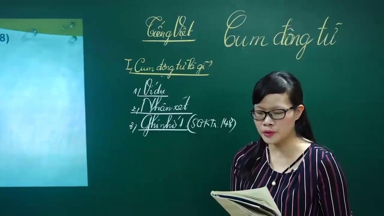 Ngữ Văn lớp 6 - Bài giảng soạn bài luyện tập CỤM ĐỘNG TỪ ngữ văn lớp 6