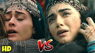 Comparisons of Halime & Bala | Similar Scenes Review | Dirilis Ertugrul Vs Kurulus Osman