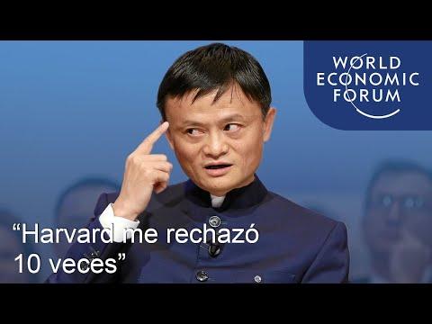 """El fundador de Alibaba, Jack Ma: """"Harvard me rechazó 10 veces""""."""