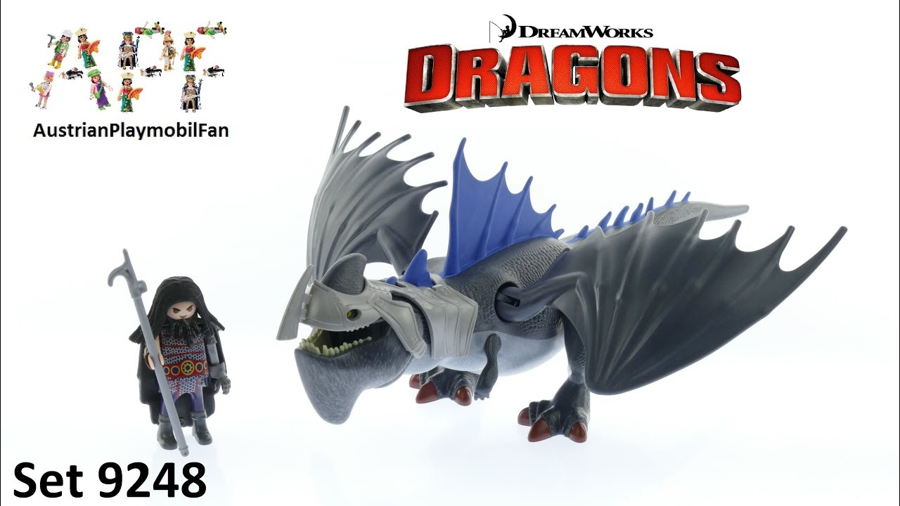 Playmobil Dragons 9248 Drago mit Donnerklaue - Playmobil Build ...