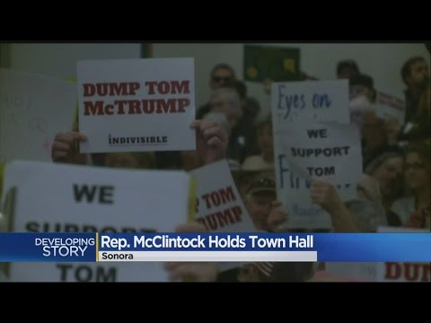 Packed Town Hall Crowd Greets Rep. Tom McClintock For Nearly 3-Hour Marathon