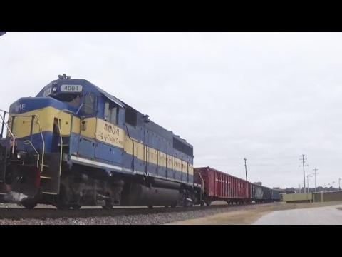 CP 8618 w/ DM&E Power & DPU, Davenport, IA, 1/30/17