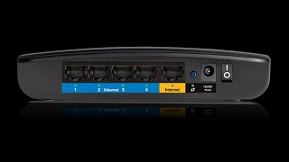 Unboxing a Linksys E1200-NP N300 router