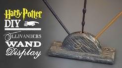 Ollivanders Wand Display - Harry Potter DIY