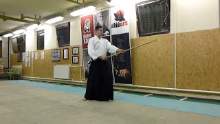 katate gedan gaeshi- jo [TUTORIAL] Aikido basic weapon technique