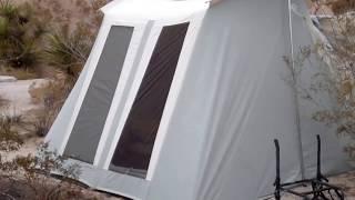 Tour Of Our Springbar Tent