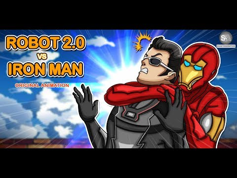 Robot 2.0 Vs Iron Man- Superheroes Fight [ Hindi Spoof ]