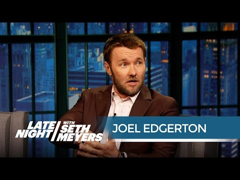 Joel Edgerton's Brother Does His Stunts for Him  Late Night with Seth Meyers