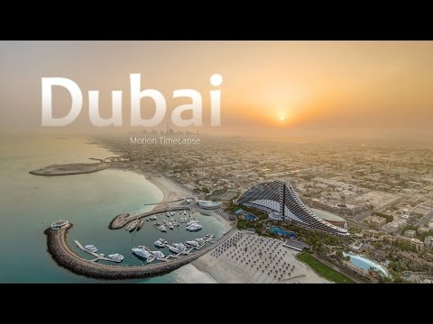 Dubai. United Arab Emirates Timelapse/Hyperlapse