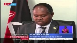 33 University of Nairobi students expelled over recent strike