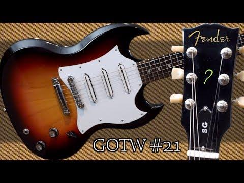 If Fender Made An SG... | 2007 Gibson SG 3 Single Coil Fireburst GOTW 21 | Review + Demo
