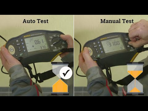 The Benefits Of Using The AutoTest Function Of The Fluke 1664FC Multifunction Installation Tester
