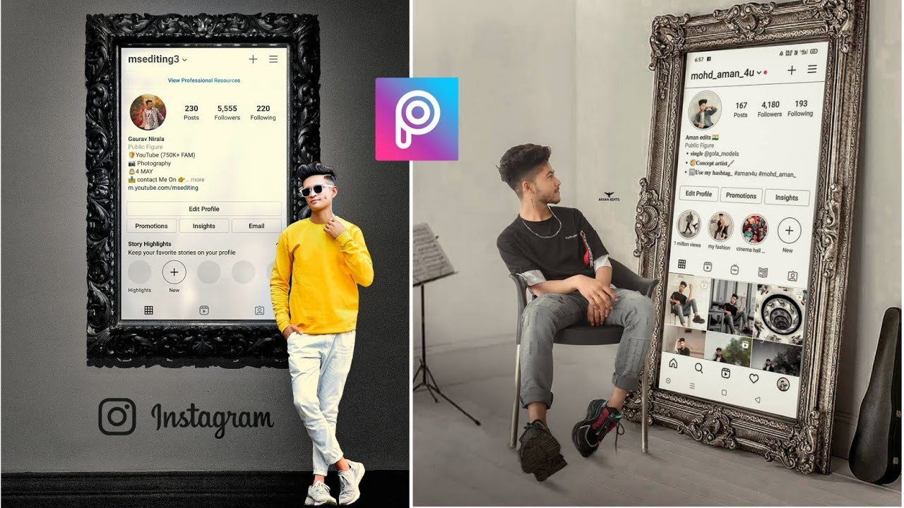 Instagram Profile Photo Editing in PicsArt | PicsArt Photo Editing | Snapseed Photo Editing