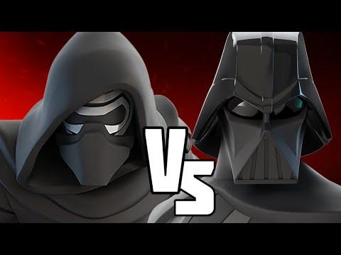 DARTH VADER VS KYLO REN - Disney Infinity BATTLES!