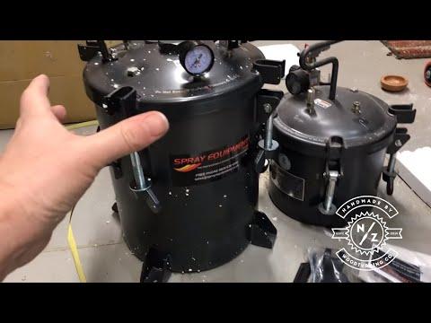 Got a huge new resin pressure pot for casting! / Giveaway!