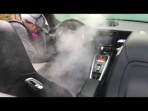 Extra Interior Package  Shampoo & Steam Cleaning Sanitizing Fortador Steamers Powered By Lamborghini