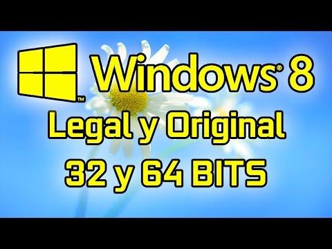 COMO DESCARGAR E INSTALAR WINDOWS 8 (32 & 64 BITS) ¡LEGALMENTE!