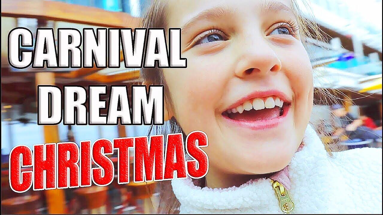 A Christmas Cruise.A Christmas Cruise On The Carnival Dream 2019