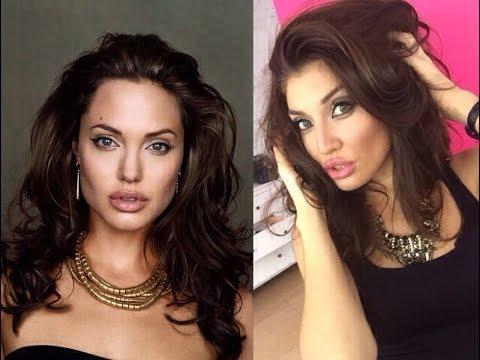 #FACEAWARDSRUSSIA2017 Angelina Jolie Makeup  Макияж Анджелины  Джоли.