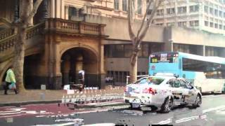 Buses At Qvb (queen Victoria Building) Sydney, Nsw (p3)