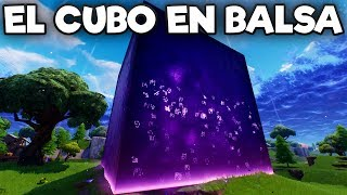 🔴 Watching The Cube In Booty Raft - Fortnite Season 6