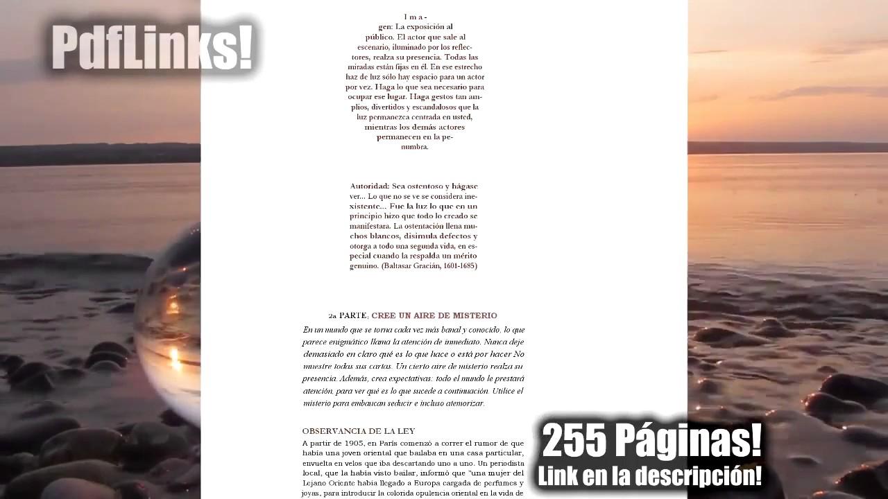 48 Leyes Del Poder Pdf