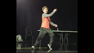 VOTE TUESDAY - Merrick's Backstage Freestyle!  Deep inside the AGT rehearsal space!