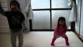 2歳の娘の動きが凄いです.