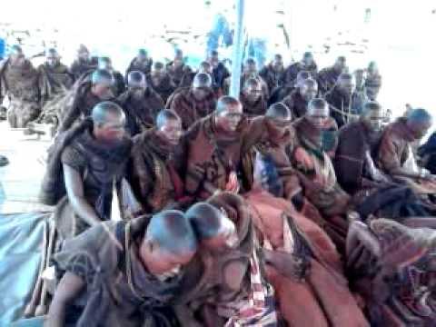 Amahlubi initiates