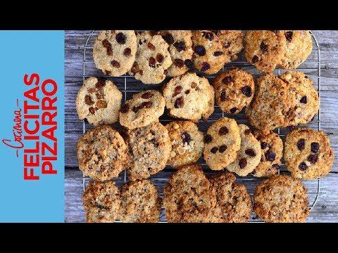 Cookies de Avena (Oats Cookies) | Feli Pizarro
