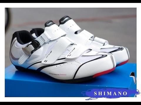Шоссейные велосипедные туфли Shimano R088. Обзор.