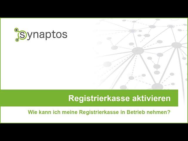 Registrierkasse aktivieren