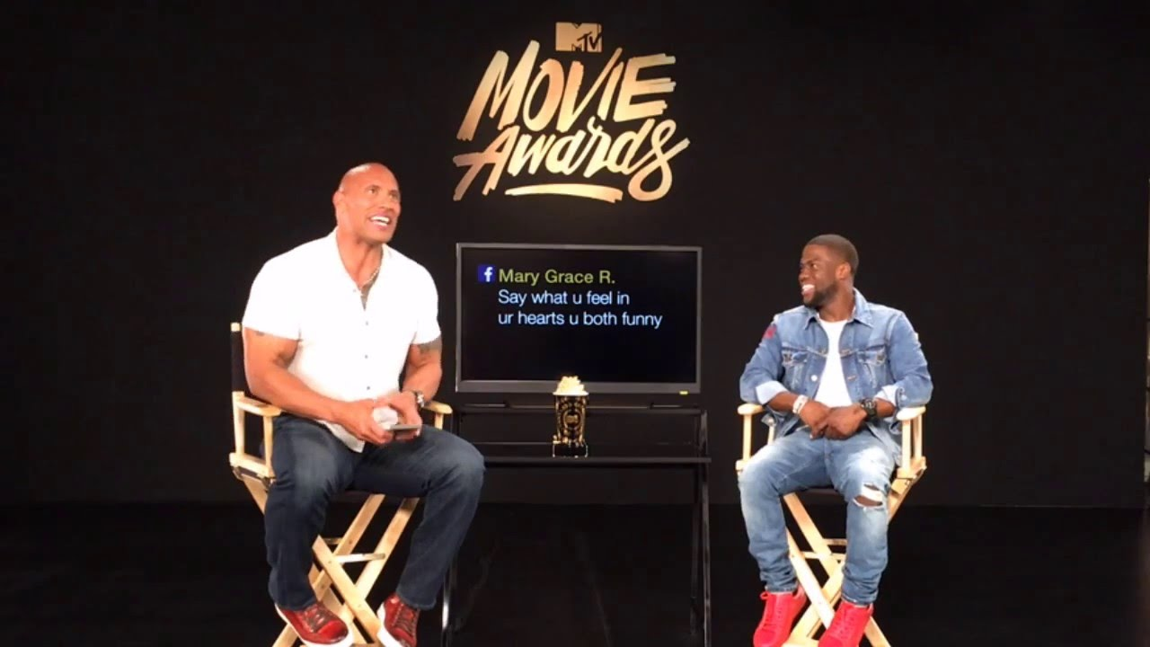 Uncensored live promo shoot with dwayne johnson kevin hart 2016 uncensored live promo shoot with dwayne johnson kevin hart 2016 mtv movie awards youtube m4hsunfo