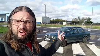 Real Road Test: BMW 325i E30 - lovely STRAIGHT SIX engine sounds!