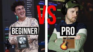 PRO in GarageBand vs BEGINNER in Logic Pro!