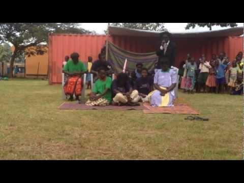 Winne play Gulu festival