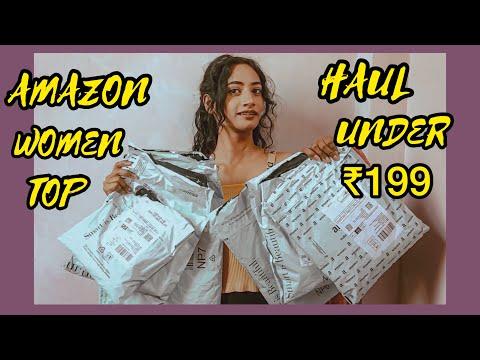 Amazon Women Tops Haul Under ₹199   SHILPA CHOUDHARY