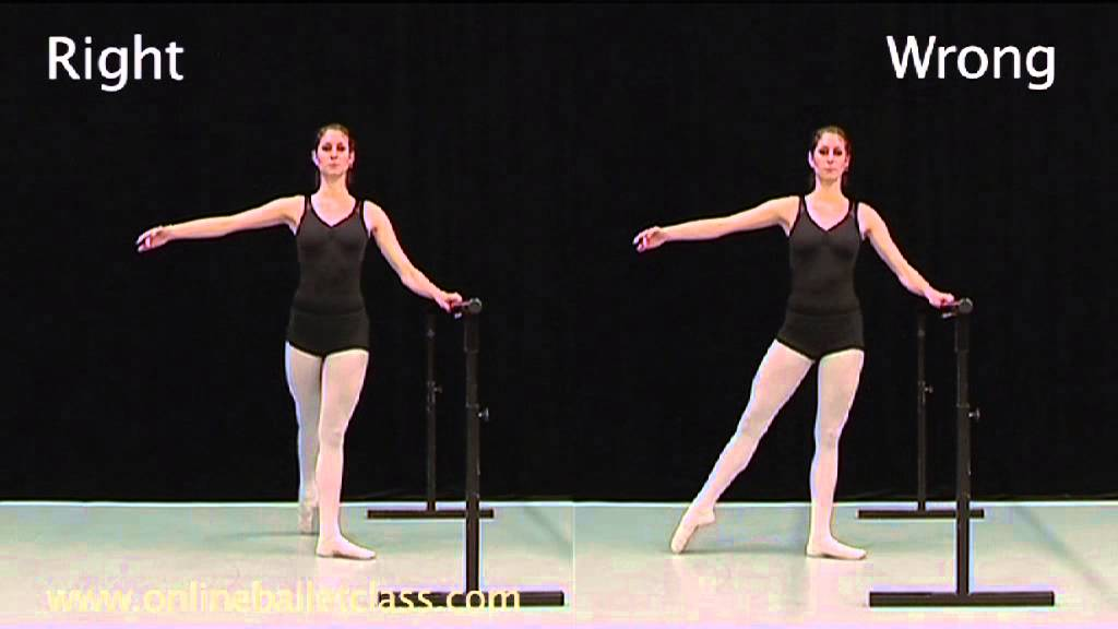 Teach Yourself Ballet: Year 1 Lesson 1 - YouTube