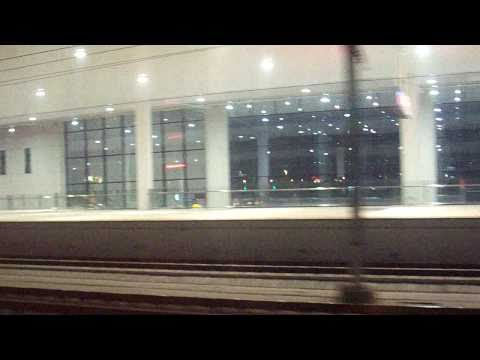 Ningbo to Shanghai by train