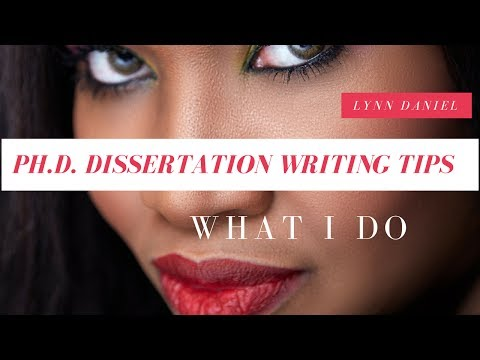 Tips for Writing Dissertation Chapter 1